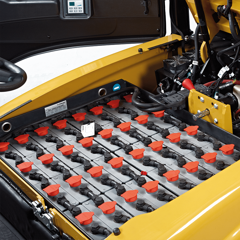 stapler batterie ladegerät